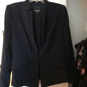 Nordstrom Trouve Navy Blazer/Jacket